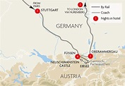 Great Rail Journeys Oberammergau & the Castles and Lakes ...