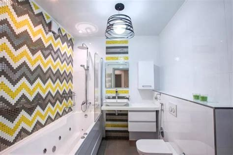 modern bathroom design trends  vibrant colors