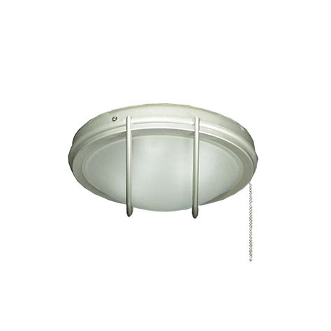 troposair 163 indoor outdoor low profile brushed nickel