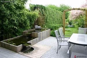 bassin en padouk jardin exotique en belgique bois d With bassin de jardin bois