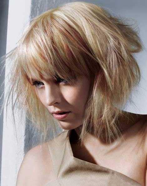 cute thin hairstyles  choppy cuts hairstylesco