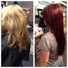 redken shades eq color gloss  sangria rv hair colour pinterest redken shades eq