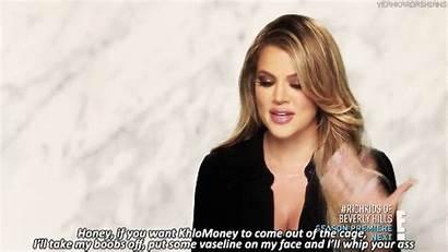 Khloe Kardashian Gifs Hunt Money Tmi Mind
