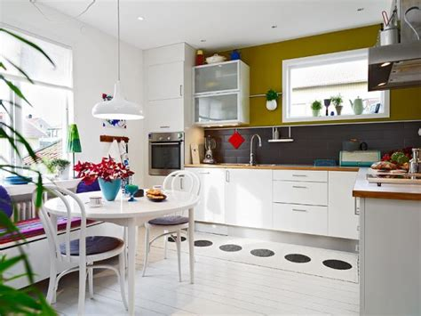 A Very Colorful Nordic Interior