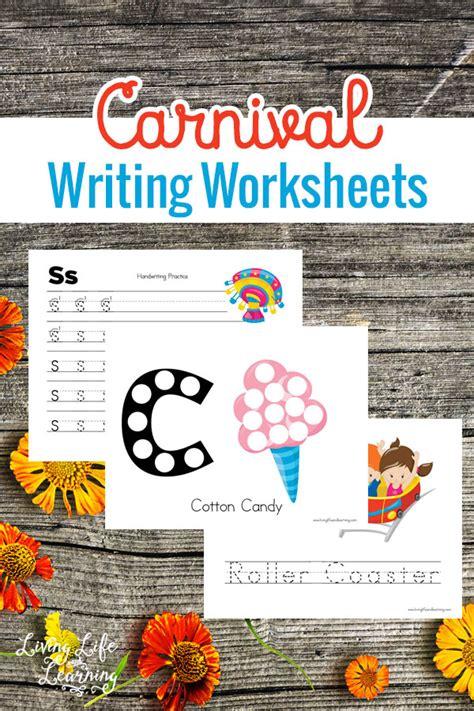 Free Carnival Writing Worksheets  Free Homeschool Deals
