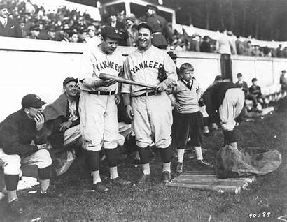 Ruth Babe Gehrig Lou 1927 Baseball Point