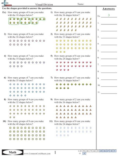 3 oa 2 worksheets - Division Worksheets Visual