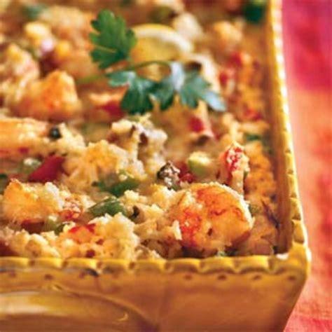 casserole dish recipes creamy corn and shrimp casserole bigoven