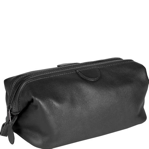 Top Grain Cowhide Leather by Royce Leather Toiletry Bag Top Grain Cowhide Leather