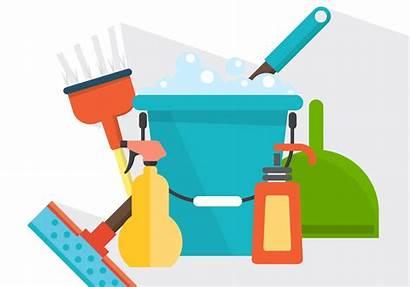 Cleaning Vector Vectors Supplies Bucket Tools Svg
