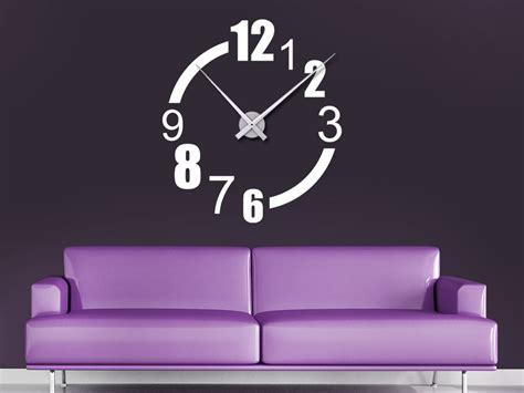 Moderne Uhren Für Die Wand by Wandtattoo Uhr Teilzeit Wanduhr Wandtattoo De