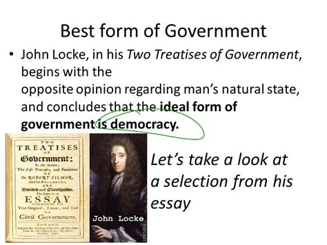 Hobbes And Locke Why Do We Need Government?