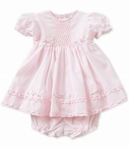 Friedknit Creations Baby Girls Newborn-9 Months Ruffle ...