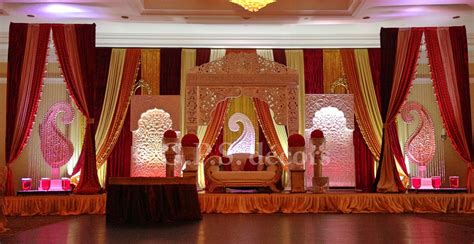 mughal wedding reception theme shaadi decor wedding