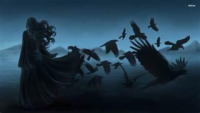 Morrigan Moon Dark Goddess Ravens Ritual Magic