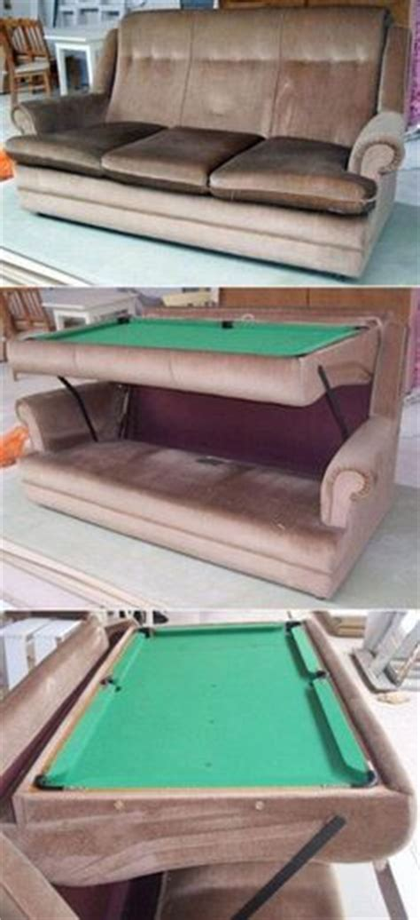 sofa pool table 1000 images about more upcycling recycling ways to reuse items on repurposed