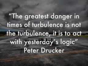 Peter Drucker Quotes On Change