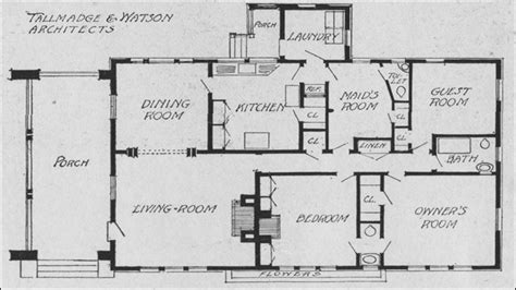 single floor plans single bungalow house plans craftsman bungalow house
