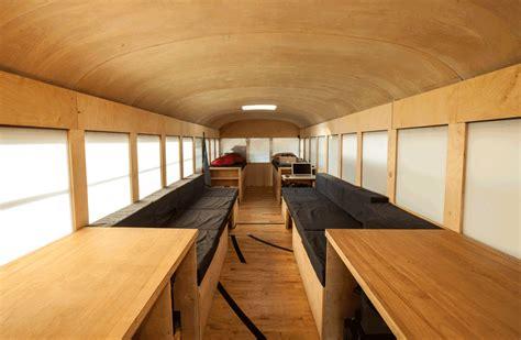 School Converted Into Small Home By Architecture Student interior design for gmc motorhomes studio design