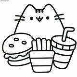 Coloring Cat Grumpy Animal Bubakids Thousand Regarding Through sketch template