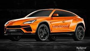 Realistic Rendering Of The Lamborghini Urus Based On Spyshot TopSpeed