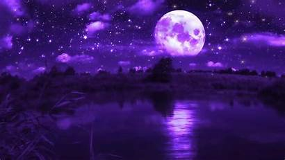 Purple Moon Windows Landscape