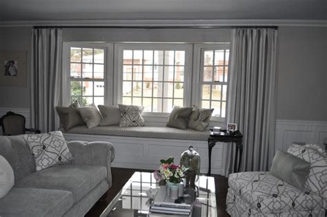 Modern Curtains 2013 For Living Room by Silvery Grey Formal Beachy Living Room Contemporary