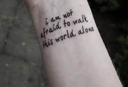 Quote Tattoos For Wome...Quote Tattoos For Girls On Wrist