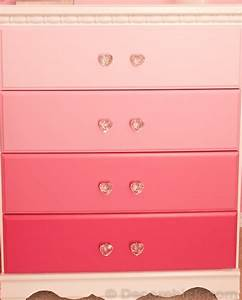 Pretty and Pink Ombre Dresser - Decorchick!