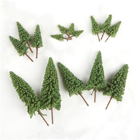 miniature flocked pine trees miniatures view all