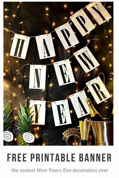 Banner Printable Happy Printables Tags Eve Diy