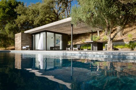dry creek poolhouse ro  rockett design archdaily