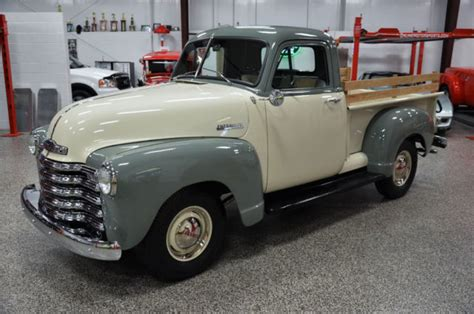 1952 CHEVROLET 3100 1/2 TON PICKUP FRAME OFF RESTORED