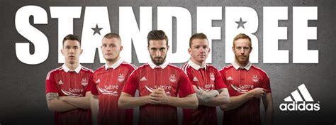 Aberdeen FC adidas 2016-17 Home Kit
