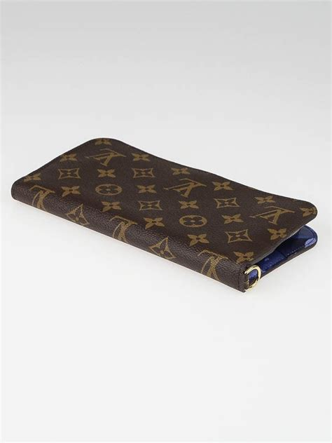 louis vuitton limited edition grand bleu monogram ikat insolite wallet yoogis closet