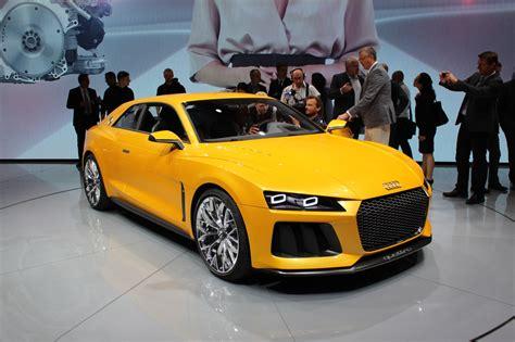 audi out modern quattro sports car again
