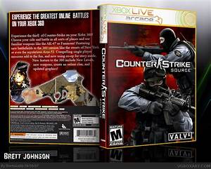 Counter Strike: Source Xbox 360 Box Art Cover by Brettska99