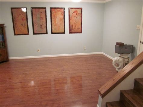 Basement Floor Paint Wood Perfect Finishing Basement