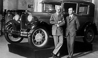 History - Video: Henry and Edsel Ford Introduce the All ...