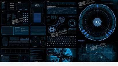 Sci Fi Screen Hud 4k Technology Broadcast