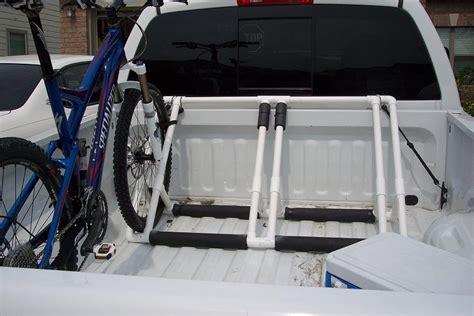 truck bed bike rack plans bed plans diy blueprints