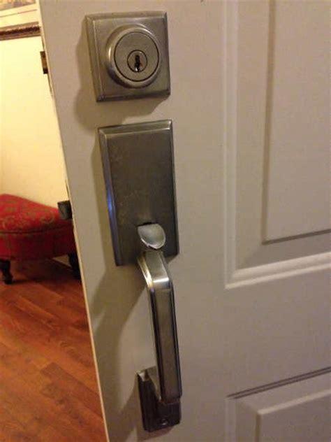 door handle broke    door knoblock set doityourselfcom community forums