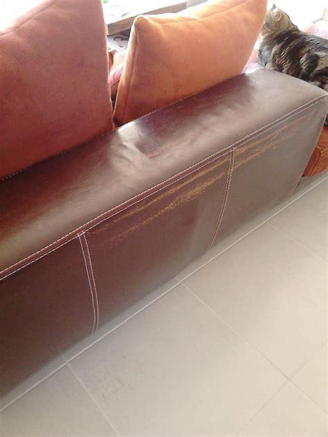 reparation canape simili cuir réparation canapé en nubuck sofolk