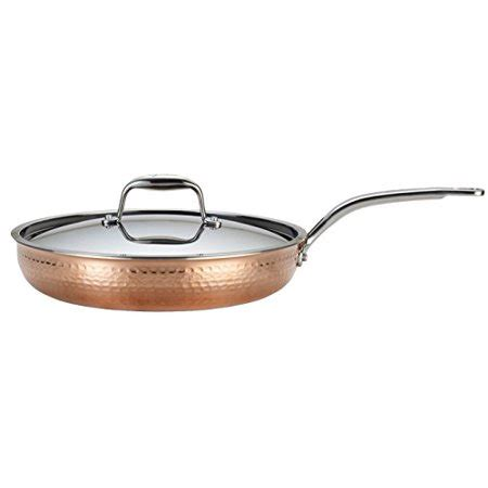 lagostina  martellata tri ply hammered stainless steel copper dishwasher safe oven safe