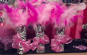 silver centerpieces baby shower decorations