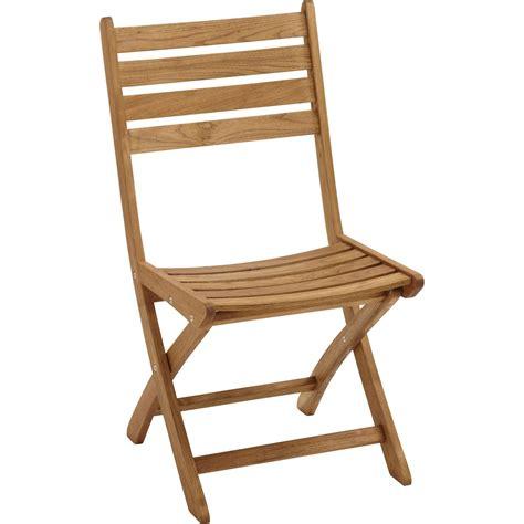 chaises de jardin ikea lot de 2 chaises de jardin en bois robin naturel leroy