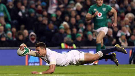 England Stun Champions Ireland Dublin