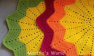 Round Crochet Pattern My First Round Ripple Or How I