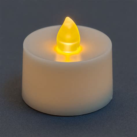 battery tea lights flickering battery operated tea light candle