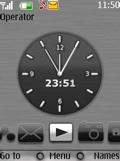 Animated Clock Wallpapers For Mobile - animated clock s40 theme nokia theme mobile